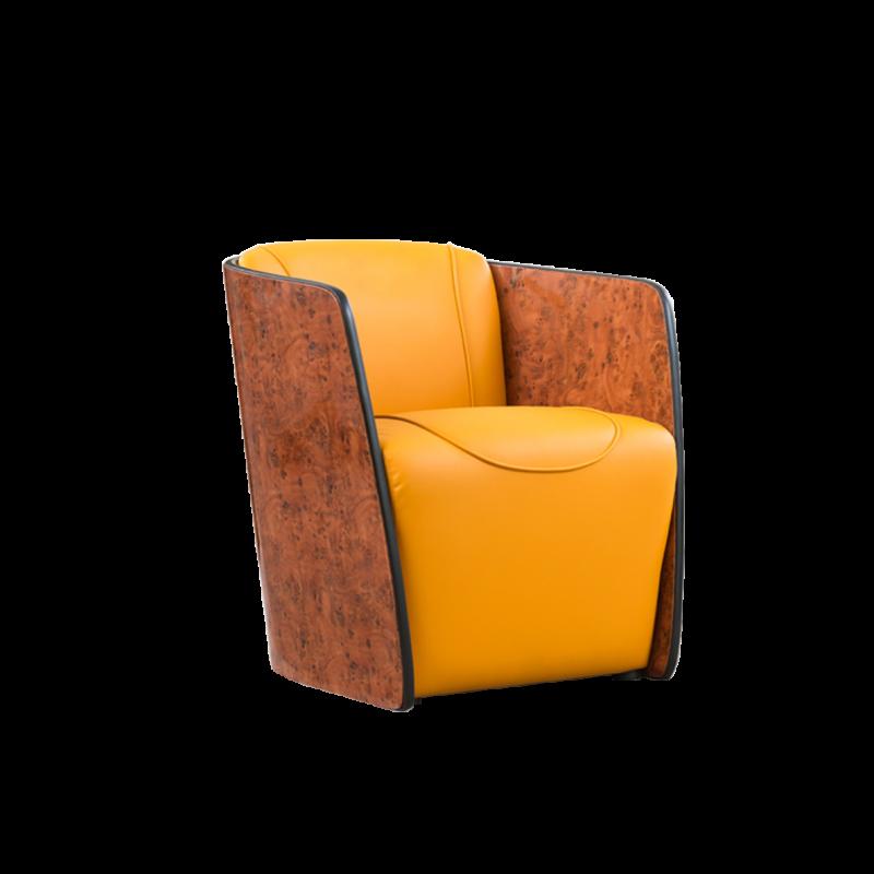 1812D1S72-C轻奢单人沙发S72轻奢系列