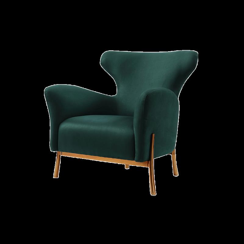 1812HS81-B1轻奢休闲椅S81轻奢系列