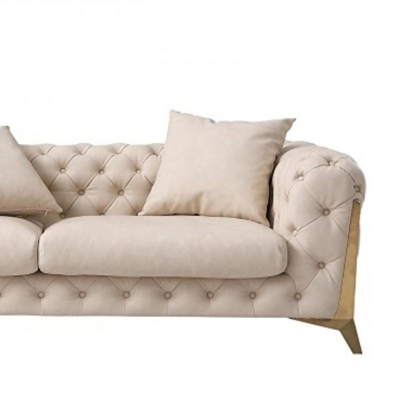 JA101B约瑟轻奢1.7米 双人沙发(全皮)