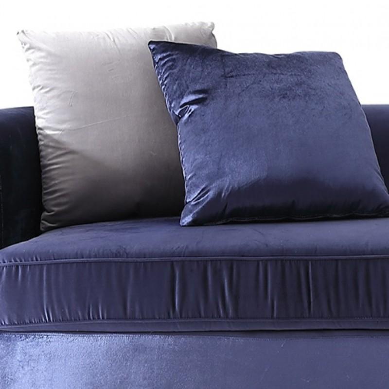 JA300约瑟轻奢三人沙发2.3米 进口绒布�...