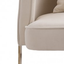 JA300 约瑟轻奢 休闲椅进口绒布