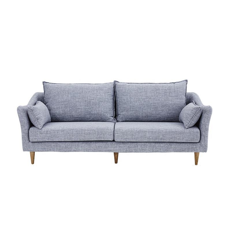 K002北欧自然马尔默双人沙发布艺