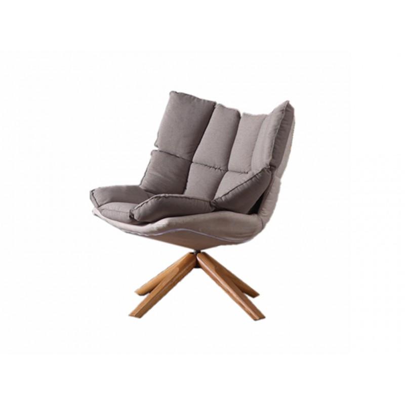 151转椅静欧现代灰色休闲椅