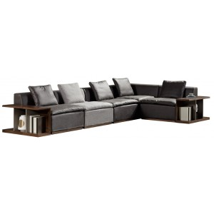 C510转角沙发(不含两边扶手柜)洛氏英伦