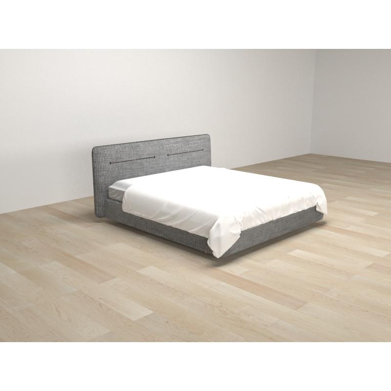 SD-C101现代诺卡1.2米布艺床
