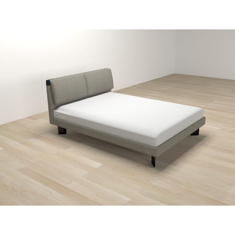 SD-C105现代诺卡1.2米布艺床