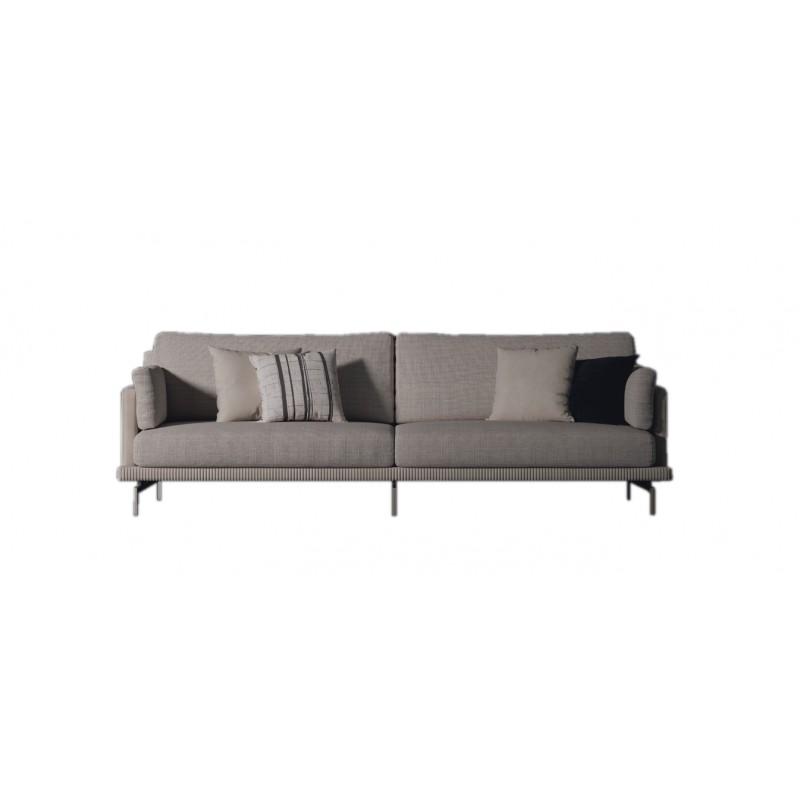 T010-2托斯卡纳布艺二人沙发1.8m