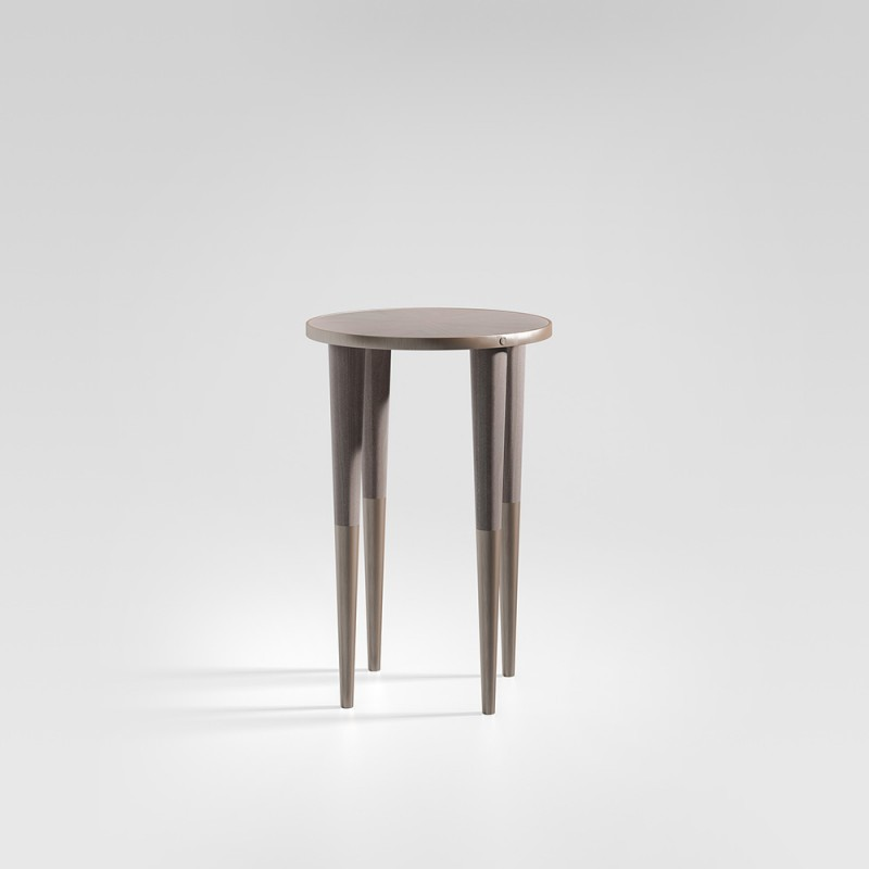T013托斯卡纳大理石小咖啡桌圆0.5m