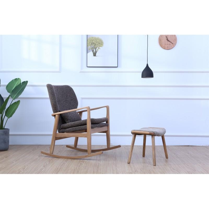 原林牧歌新北海道摇椅布料色可换