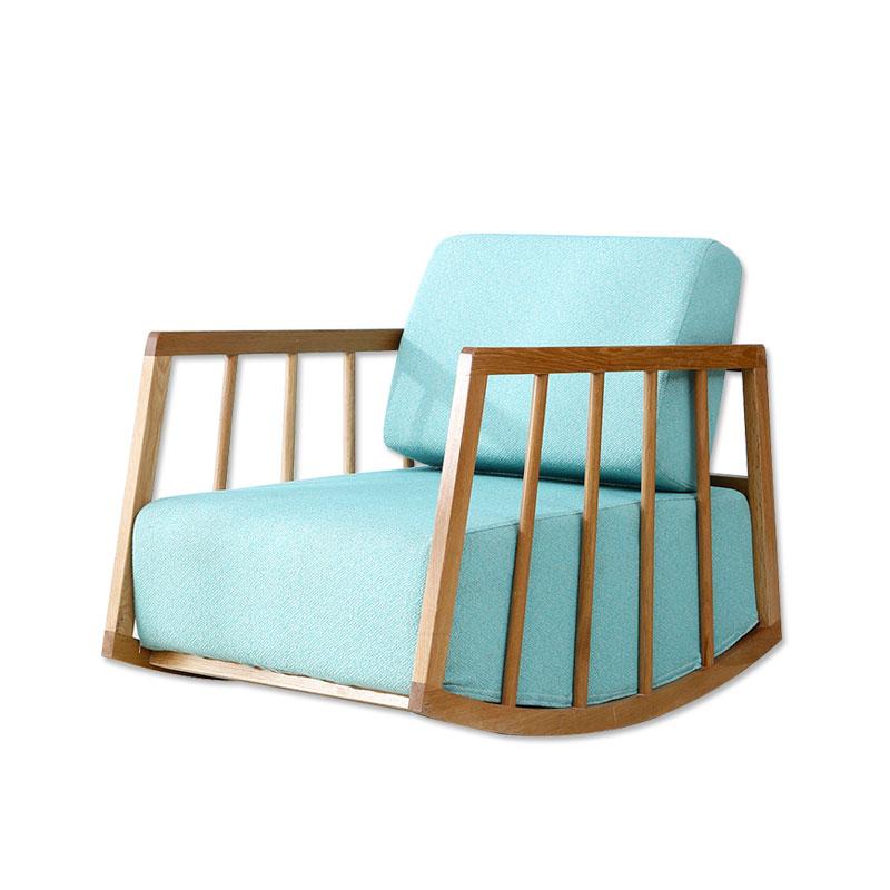 原林牧歌新北海道新款摇椅布料色可�...