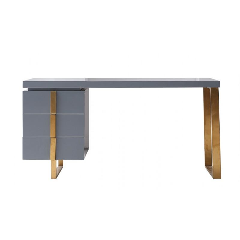 JA101约瑟轻奢1.5米书桌 高级灰
